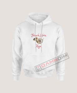 Hoodies French Horn Mom