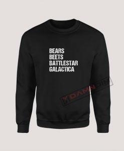 Sweatshirts Bears Beets Battlestar Galactica
