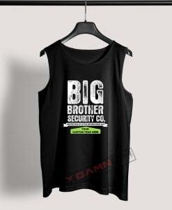Tank Top Big Brother Security