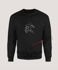 Sweatshirts Big Hat Horse
