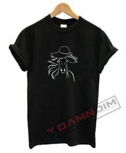 Big Hat Horse T Shirt