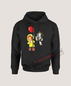 Hoodies Chucky and Pennywise