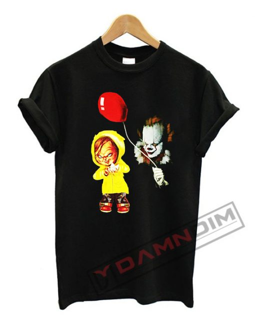 Chucky and Pennywise T Shirt