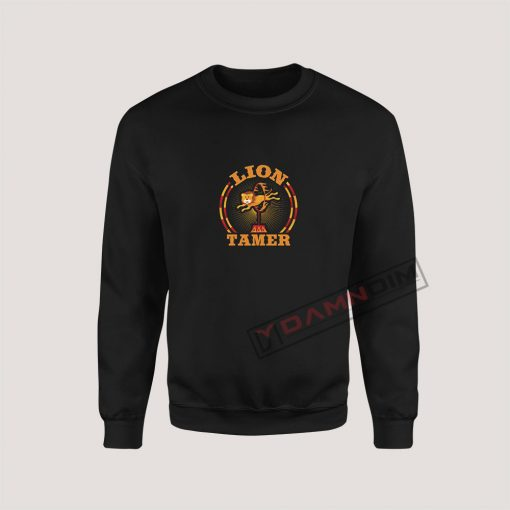 Sweatshirts Circus Lion Tamer Staff Costume