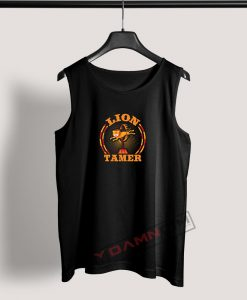 Tank Top Circus Lion Tamer Staff Costume