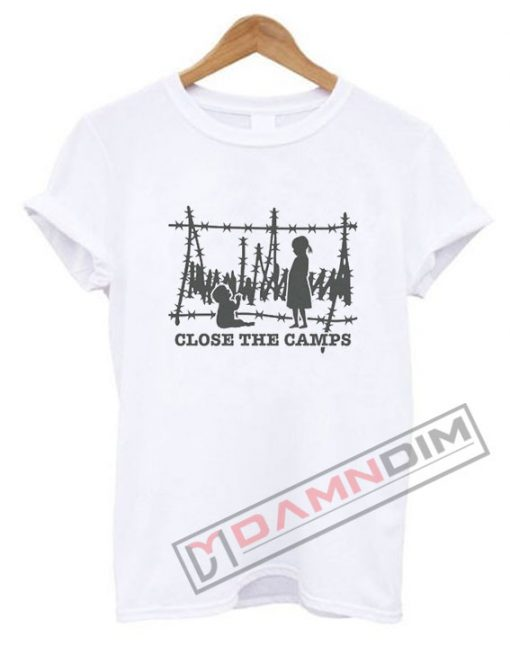 Close The Camps Trump Razor Wire T Shirt