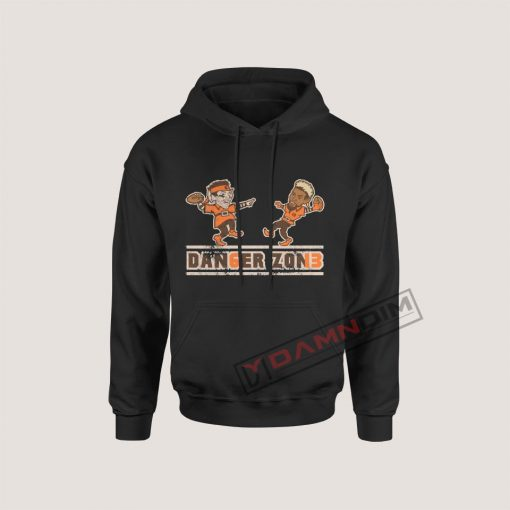 Hoodies Dan6er Zon13 Baker Mayfield