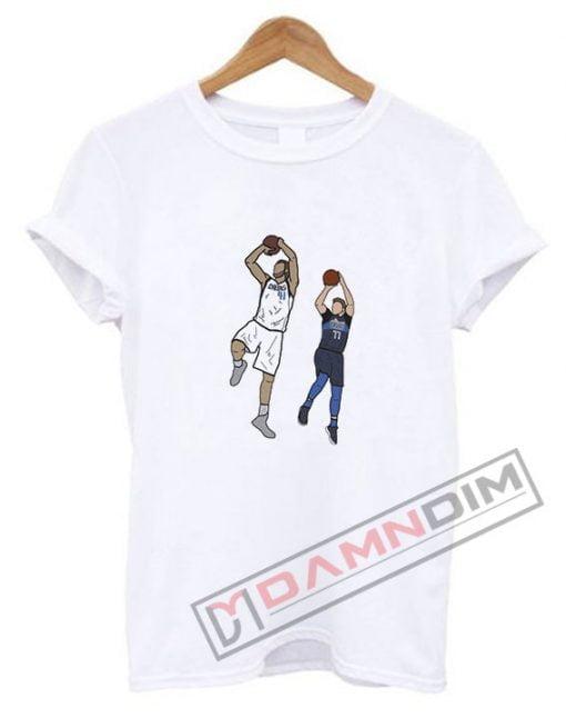 Dirk Nowitzki x Luka Doncic 'Euro Bros' T Shirt
