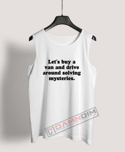 Around Solving Mysteries Tank Top