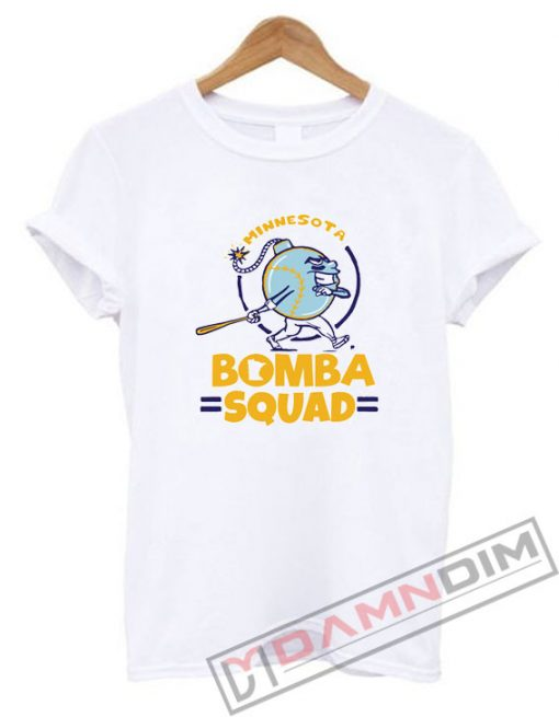 Bomba Squad Twins Minnesota Shirt