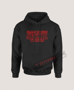 Senior Things Class of 2020 Hoodie