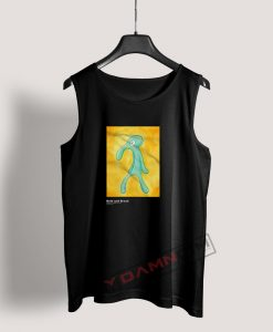 Bold And Brash Painting Squidward Tank Top