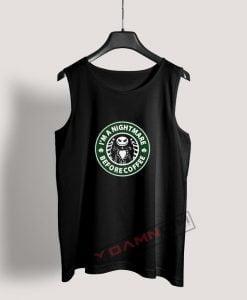 Im A Nightmare Before Coffee Jack Skellington Tank Top