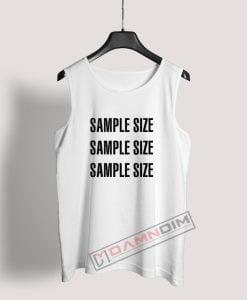Sample Size Tank Top