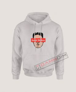 Send Nukes Kim Jong Un Parody Hoodie