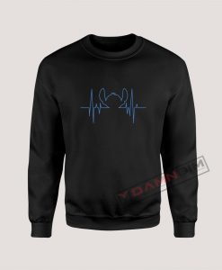 Stitch heartbeat Sweatshirt