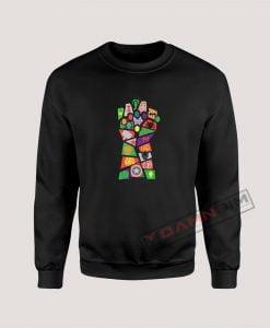 Avengers Infinity War Pop Art Sweatshirt