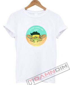 Goblin Sleep When You Want It's Lunday T-Shirt