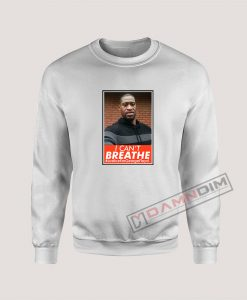 Please I Can't Breathe George Floyd Sweatshirt