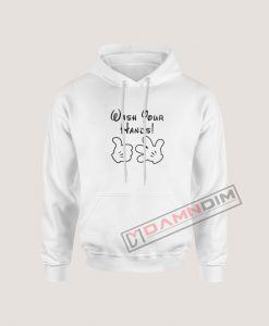 Wash Your Hands Mickey Gloves Hoodie