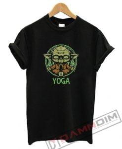 Yoga Master Yoda Star Wars T-Shirt