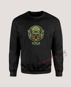 Yoga Master Yoda Star Wars Sweatshirt