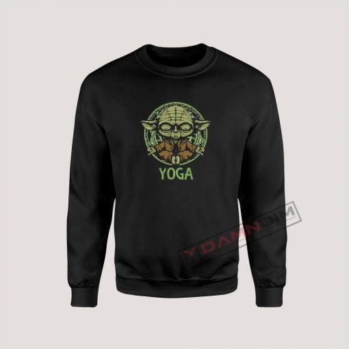 Yoga Master Yoda Star Wars Sweatshirt