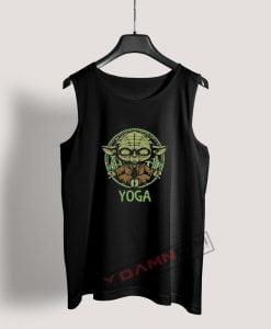 Yoga Master Yoda Star Wars Tank Top
