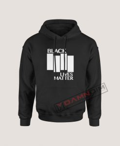 Black Lives Matter Black Flag Parody Hoodie For Women's Or Men's