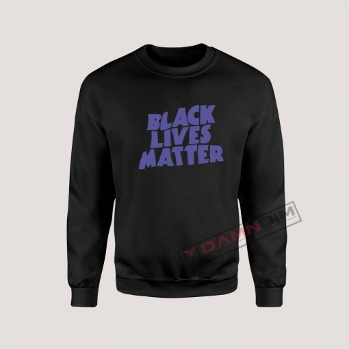 Black Lives Matter Black Sabbath Parody Sweatshirt For Unisex