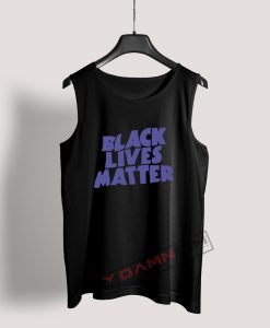 Black Lives Matter Black Sabbath Parody Tank Top For Women's Or Men's