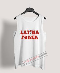 Latina Power Tank Top For Women's Or Men's
