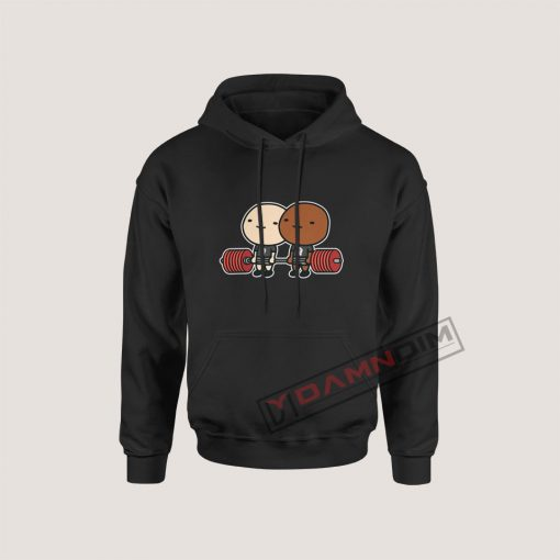 Strong Black Lives Matter BLM Campaigns Hoodie For Women's Or Men's