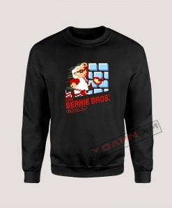 Super Bernie Bros Bernie Sanders Sweatshirt