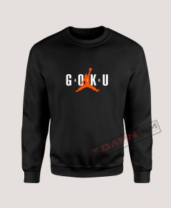 Super Saiyan Son Goku Air Goku Dragon Ball Z Sweatshirt
