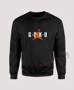 Super Saiyan Son Goku Air Goku Dragon Ball Z Sweatshirt