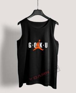 Super Saiyan Son Goku Air Goku Dragon Ball Z Tank Top