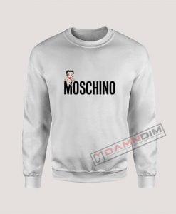 Betty Boop Moschino Sweatshirt