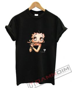 Betty Boop with a Cigar T-Shirt