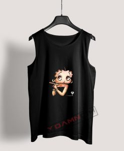 Betty Boop with a Cigar Tank Top
