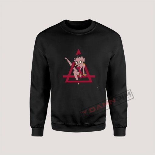 Eleven Paris Betty Boop Sweatshirt
