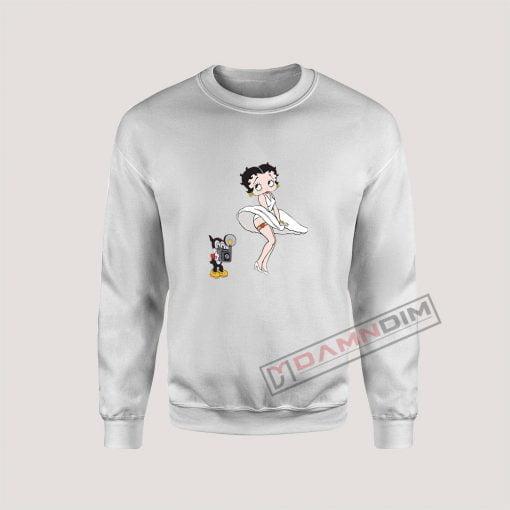 Moschino Betty Boop Sweatshirt