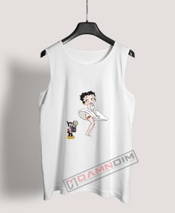 Moschino Betty Boop Tank Top