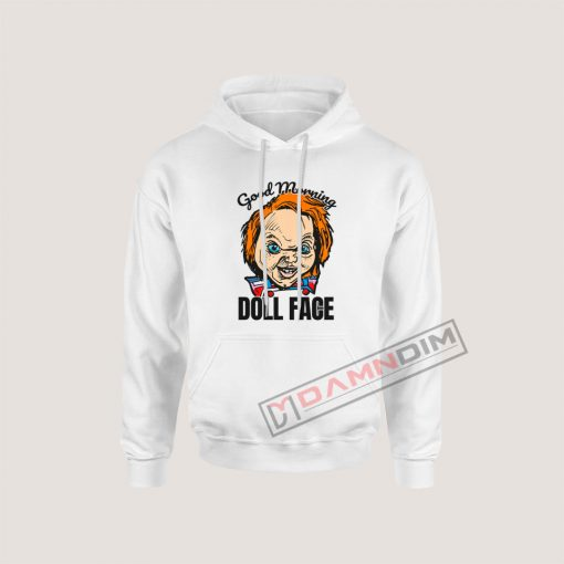 Morning Doll Face Chucky Hoodie