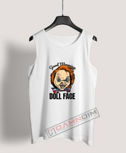 Morning Doll Face Chucky Tank Top