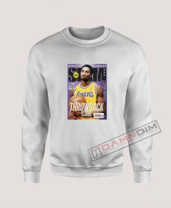 Slam Magazine Kobe Black Mamba Retro Sweatshirt