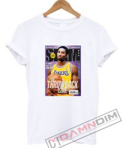 Slam Magazine Kobe Black Mamba Retro T-Shirt