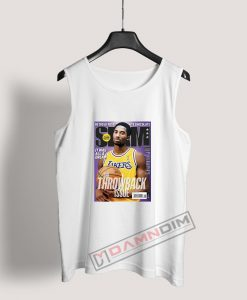 Slam Magazine Kobe Black Mamba Retro Tank Top